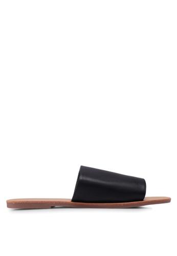 Rubi black Cleo Minimal Slide Sandals F47A2SH9EE6AF5GS_1