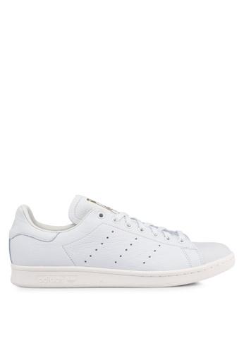 adidas white adidas originals stan smith premium 4A949SH22FD8C9GS_1