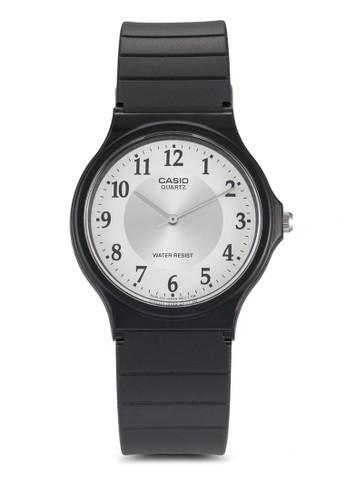 石英樹脂圓框休閒手錶, 錶類, 飾品配esprit outlet 台灣件