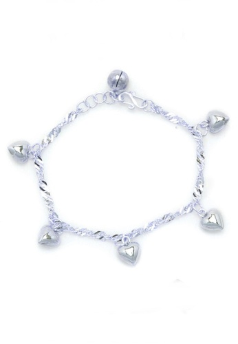 Elfi silver Elfi 925 Genuine Solid Silver Baby Bracelet SB-BB1 EL186AC83EOMMY_1