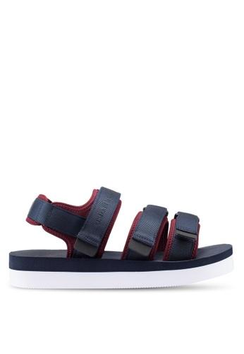 66a46120ebc Buy Armani Exchange Retro Canvas Sandals Online on ZALORA Singapore