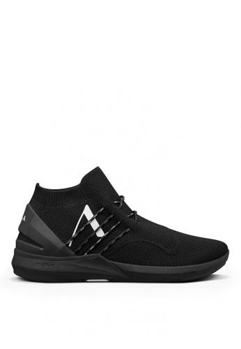 ARKK Copenhagen black Spyqon FG H-XI Male Sneakers 17702SHA140316GS_1