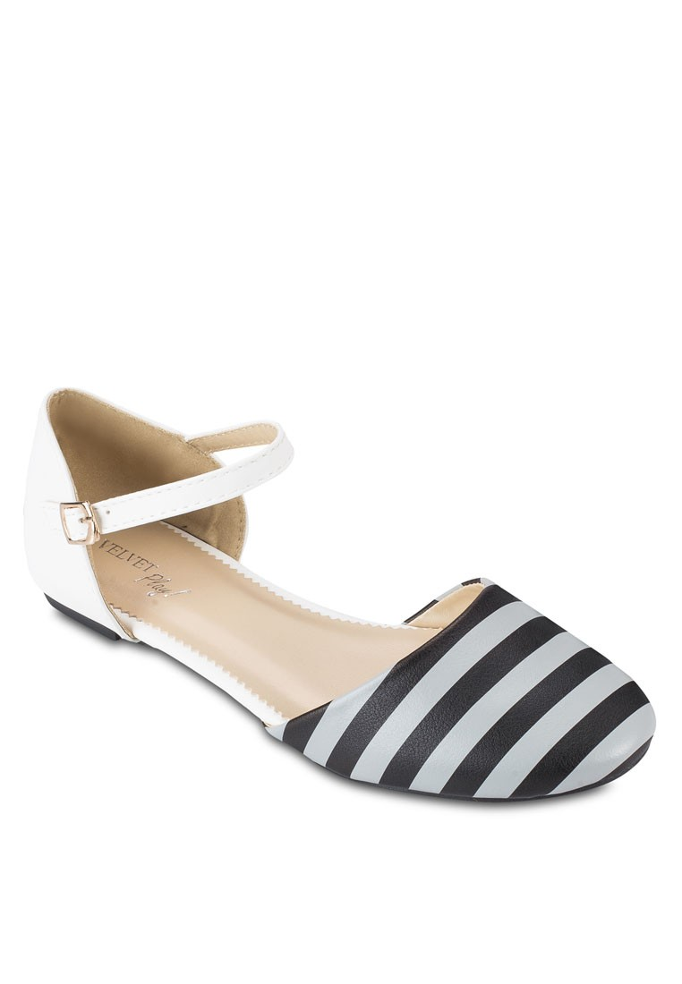 PLAY! Hester Stripes Flats
