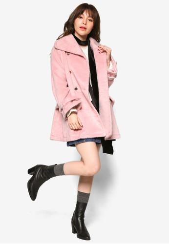 雙排鈕寬esprit童裝門市版長版外套, 服飾, 外套