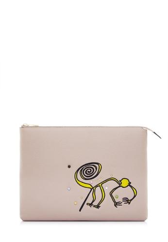 BONIA Blush Pink The Nazca iPad Case BO777AC0SDVFMY_1