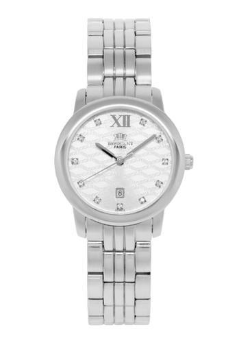 Roscani silver Roscani Grace B73 (Curved Crystal + Platinum Plating) Platinum Bracelet Women Watch 85713AC8BC3714GS_1