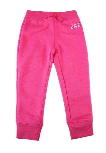 GAP pink Logo Fleece Trousers 30B36KAA21ACEDGS_1