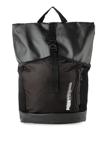 Puma black Energy Rolltop Backpack C8556AC786A5DCGS 1 6a091c7bc3cf8