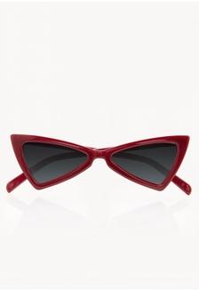 8a5632ea7e Super Cat Eye Triangle Sunglasses - Red C8C99GL95AF3BBGS 1 Pomelo ...
