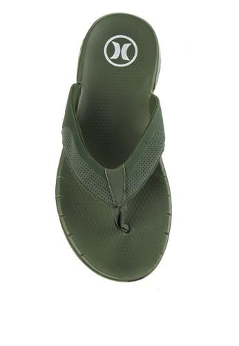 hurley green Phntm Free Sandal D7355SH5DC0886GS_1