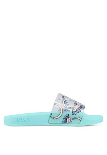 Slydes multi Totes Sandals D417BSHB7AB421GS_1