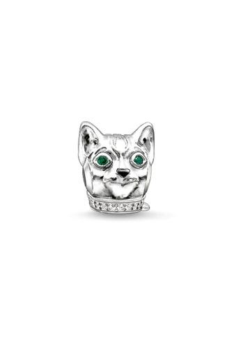 """THOMAS SABO silver Bead """"cat"""" 42E13AC569D6CBGS_1"""