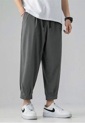 Twenty Eight Shoes grey VANSA  Solid Color Casual Sweat Pants  VCM-P2053 532ABAA33619ADGS_1