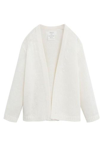 MANGO BABY white Knit Cardigan 6D424KA51B43C0GS_1