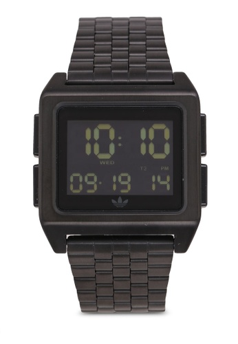 Adidas black adidas originals Archive M1 Watch 49857AC5970396GS_1