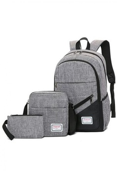 Psst... we have already received your request. Lucky JX. Guidino 3 in 1 set  Fashion School Canvas Backpack fb8bde6eba