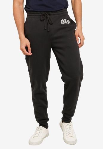 GAP navy Modern Logo Pants 97100AA80518E5GS_1