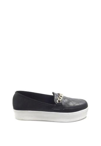 Beauty Shoes black Beauty Shoes 1204 Slip On Black 9EE3ESHB8253D0GS_1