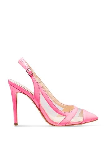 GUESS 粉紅色 Chaffee Sling Back Heels 2C914SH5A49386GS_1