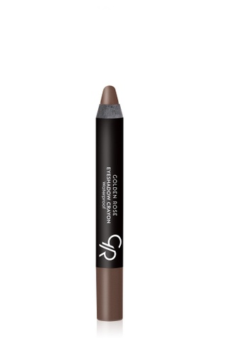 GOLDEN ROSE brown EYESHADOW CRAYON WATERPROOF - 13 GO743BE62FNLMY_1