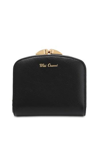 Wild Channel black Women's Bi Fold Wallet 35810ACA3ADCC9GS_1