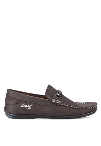 Louis Cuppers brown Casual Loafers LO977SH24BBFMY_1