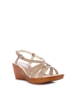 0d2480cf6db8 10% OFF BANDOLINO Stella Wedge Sandals Php 1