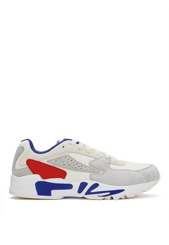 FILA white MIND BLOWER Sports Shoes A4D53SH27200A8GS_1