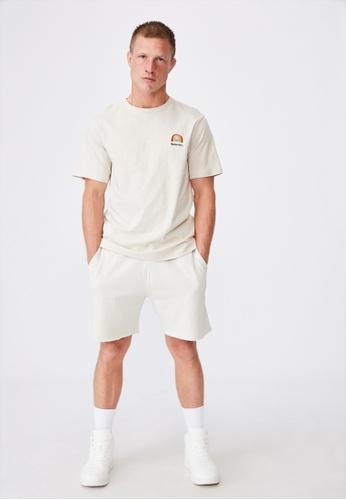 Cotton On beige Tbar Art T-Shirt DB6A7AA74D866BGS_1