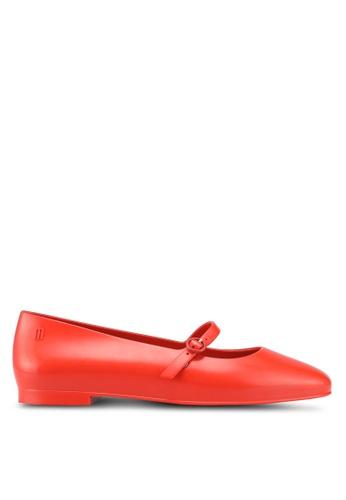 Melissa 紅色 Melissa Believe Ad 平底鞋 72F65SHAA92D93GS_1