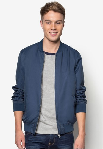 輕量esprit品牌介绍基本款拉鍊外套, 服飾, 外套