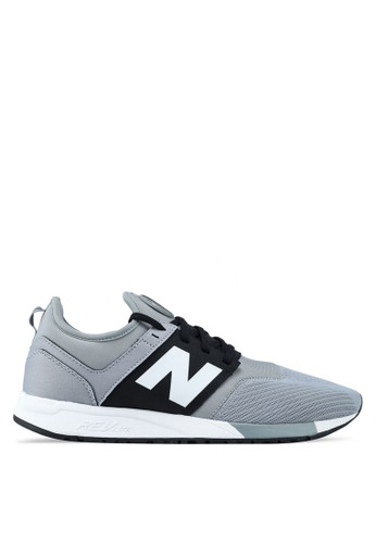 New Balance grey 247 Lifestyle Sneakers B66DASH45A27FAGS_1