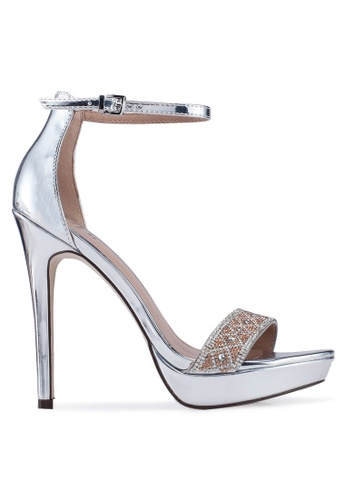 d7527c0068e Call It Spring silver Westkaap Open Toe Ankle Strap Stiletto Heels  9639FSHC4AB71DGS_1