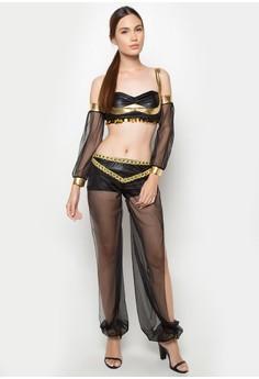 Sexy Arabian Night Belly Dancer Costume Dress