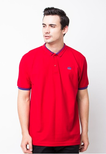 Endorse Polo Shirt E Eloggo St Red END-PE008