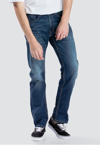 b2b7e55ef1f Levi's blue Levi's 505™ Regular Fit Performance Cool Jeans  18BC7AA0F51135GS_1