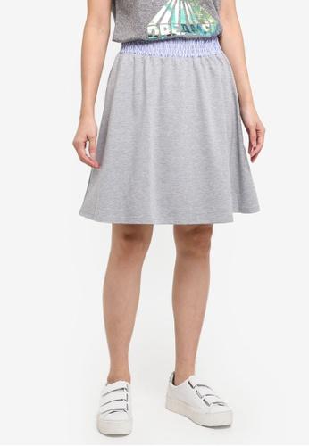 Modstrom grey Farah Skirt 5CDD5AA156A288GS_1
