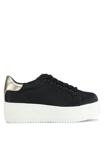 Miss KG black Lassie Platform Sneakers 2F555SHE81A56CGS_1
