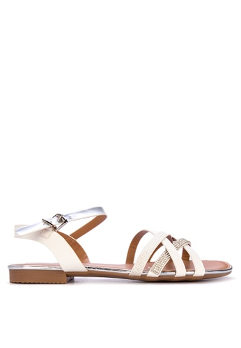 aebba70c5cd Shop Mendrez Charie Flat Sandals Online on ZALORA Philippines