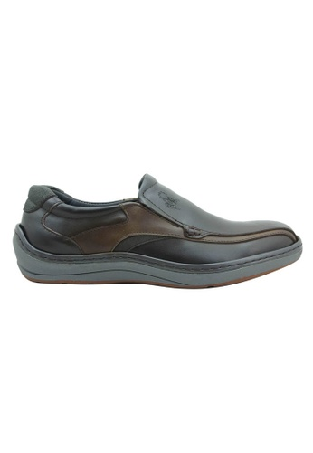 midzone brown Comfortable Leather Slip On MI949SH49ZHAMY_1