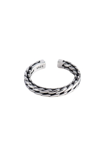 A-Excellence silver Premium S925 Sliver Chain Ring 8320CAC3D368E0GS_1