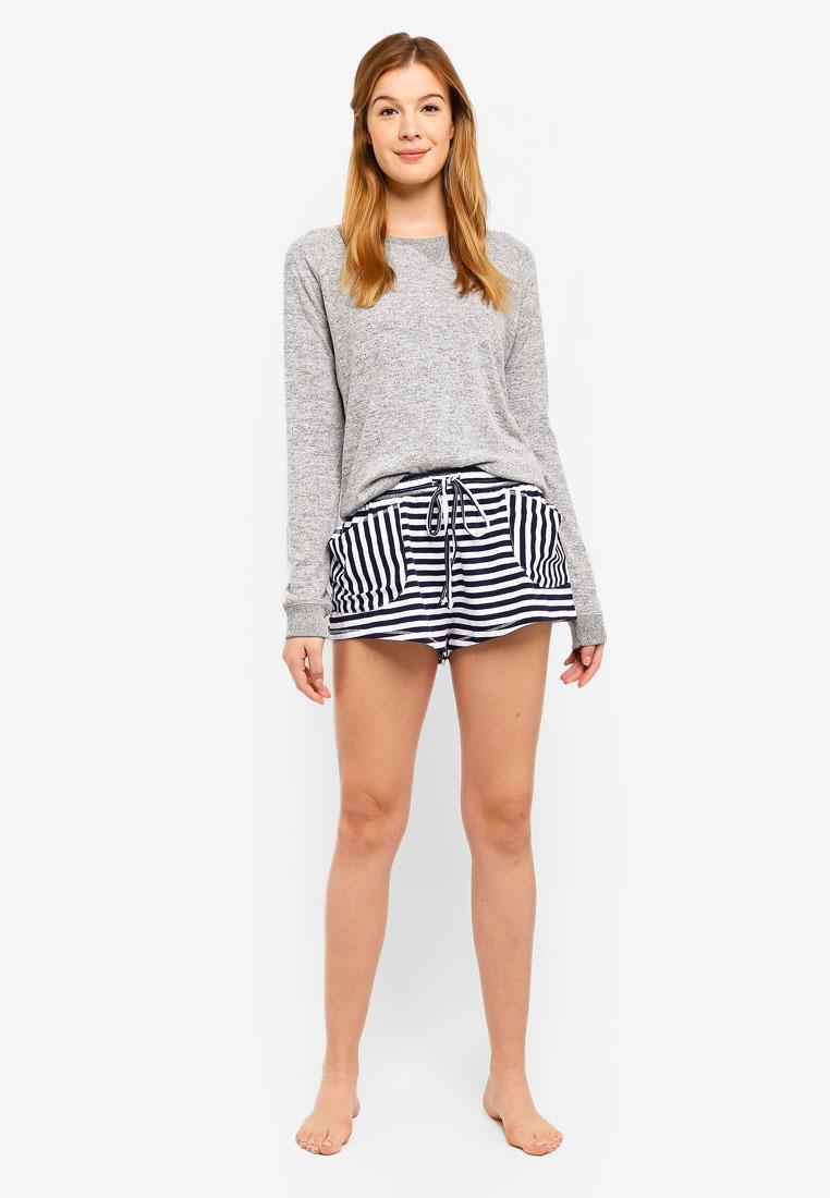 Shorts Body On Back Cotton Stripe Match ZTIwxffPq