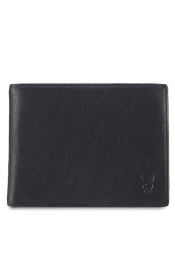Playboy black Playboy Genuine Leather Wallet 4F0EBAC4B7A93FGS_1