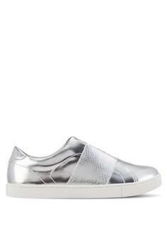 【ZALORA】 Pirasa 簡約拼接懶人鞋