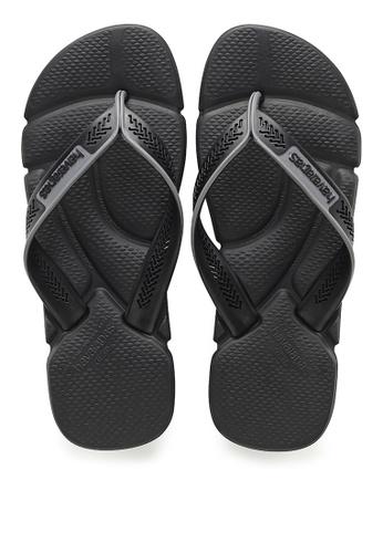 Havaianas black POWER Sandals & Flip Flops FA9F8SHD066A6FGS_1