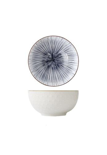 Table Matters multi Blue Illusion - 8 inch Big Serving Bowl 84678HLEECBB4BGS_1