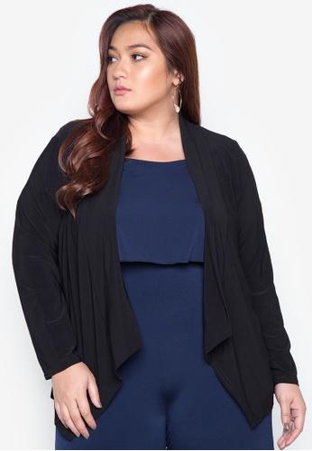 Curvy black Plus Size Caitlin Cardigan CU774AA0IVY7PH_1