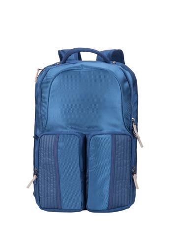 Caterpillar Bags & Travel Gear blue Revo Backpack Small CA540AC21IRIHK_1