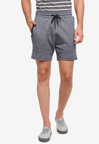 Jack & Jones blue Will Sweat Shorts 8A2ECAAA9C54D5GS_1