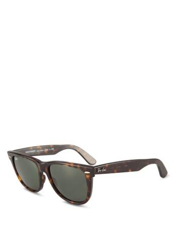 Ray-Ban brown Wayfarer RB2140 Sunglasses 6D73FGL5DCBF89GS_1